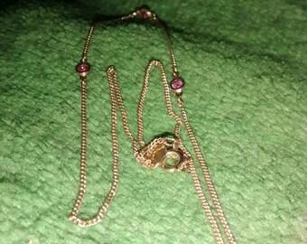 Avon Crystal Necklace