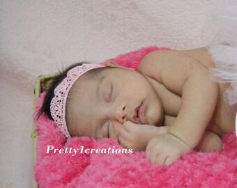 newborn crown headband