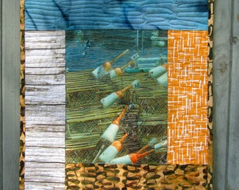 Nautical Wall Hanging Decoration Ocean Fishing Lobster Trap