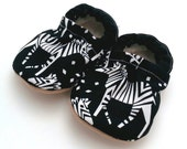 zebra baby shoes incognito tula booties soft soles shoes zebra booties black and white vegan baby shoes baby zebra clothing zoo animal baby