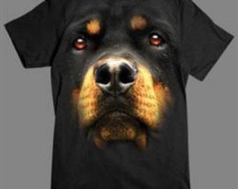 3 D Rottweiler T Shirt