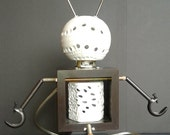 "Steampunk Male ""Lampbot"" with Penis Illuminated Art Sculpture"