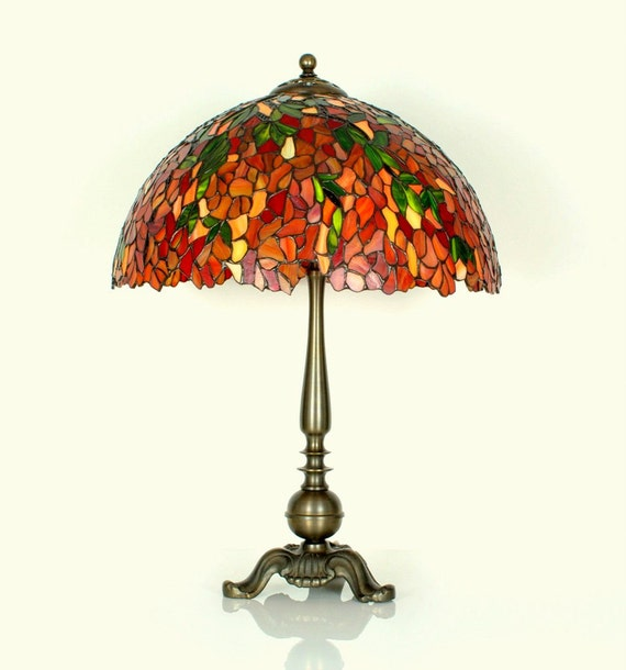 16 5 stained glass table lamp tiffany lamp stained. Black Bedroom Furniture Sets. Home Design Ideas
