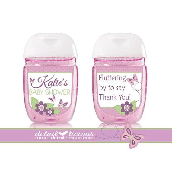 Items Similar To Mini Hand Sanitizer Favors, Santizier, PocketBac, Baby Shower Favors, Shower