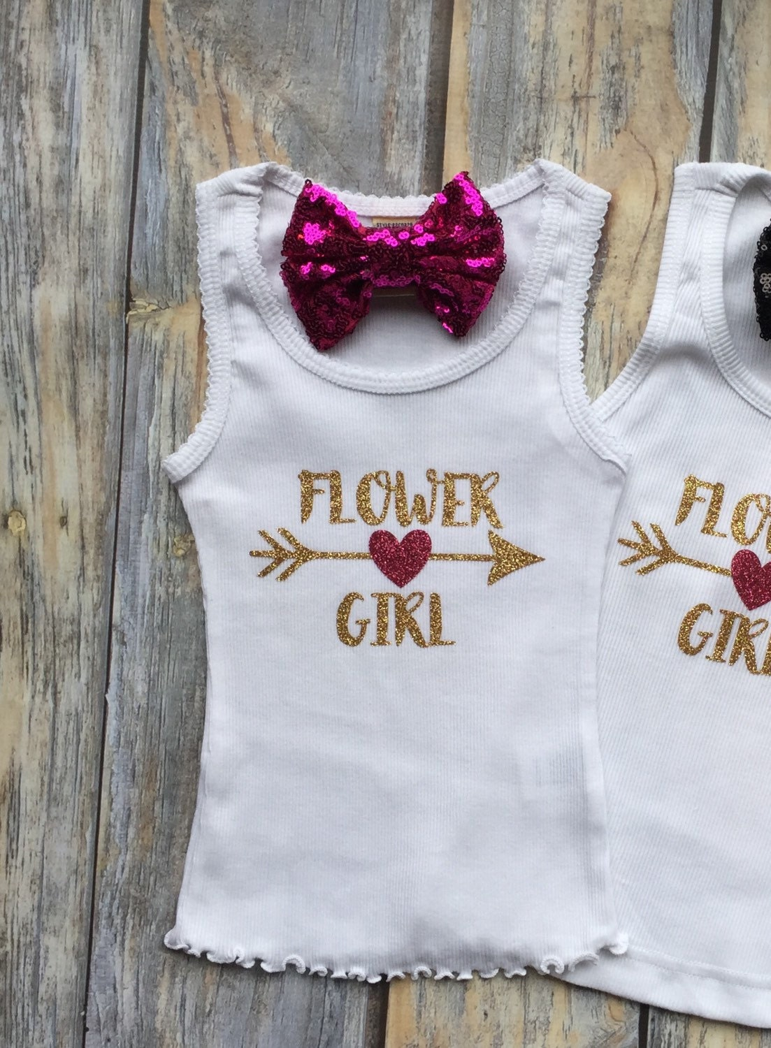 Flower Girl Shirt Bridal Party Gifts Bride Shirt Flower