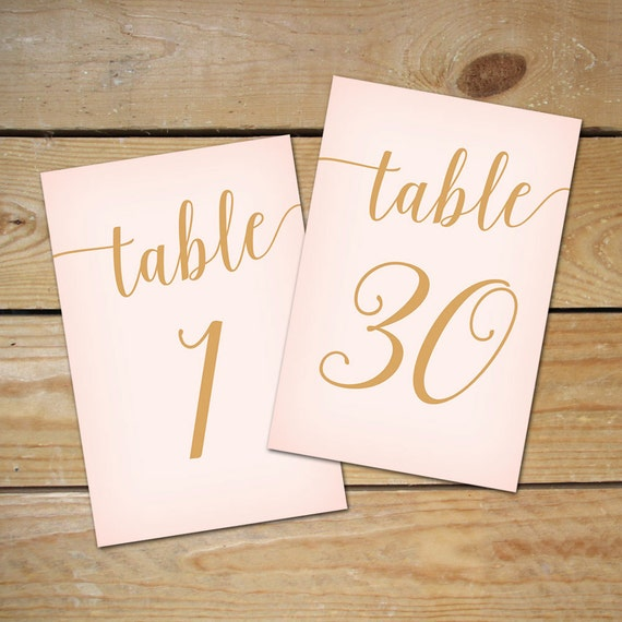This is a photo of Insane Free Printable Table Numbers 1-30