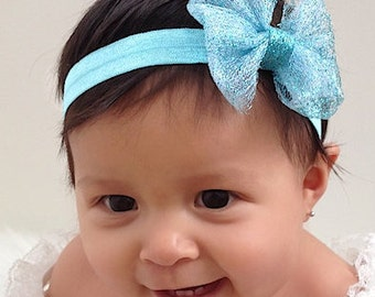 Baby Headband, Bow Headband, Baby Bow Headband, Baby Girl Headband, Newborn headband, Infant Headband, Headband, baby bows, Toddler Headband