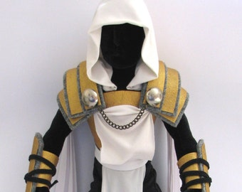 Diablo inspired angel Tyrael archangel art doll