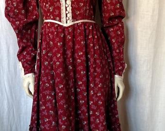 Vintage 70's Prairie Dress