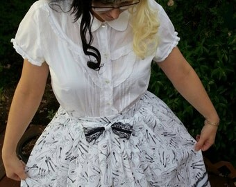Classy Cutlery Classic Lolita Skirt with Maid Headdress