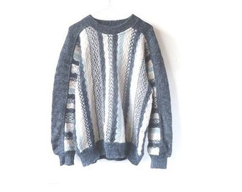 dreamy tapestry sweater - pastels - sparkly
