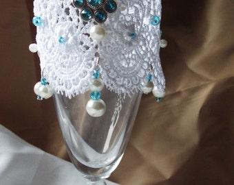 Blue skies Cuff Bracelet