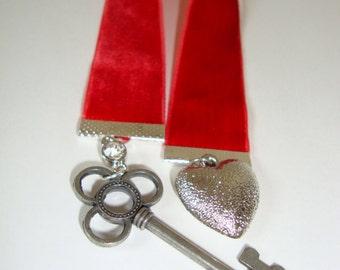 Red Velvet Charmed Bookmark