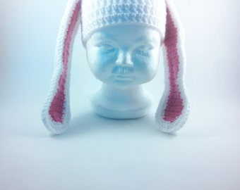 Bunny Beanie - Infant to Adult Sizes