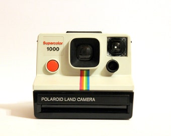 Polaroid Supercolor 1000 - TESTED - WORKING