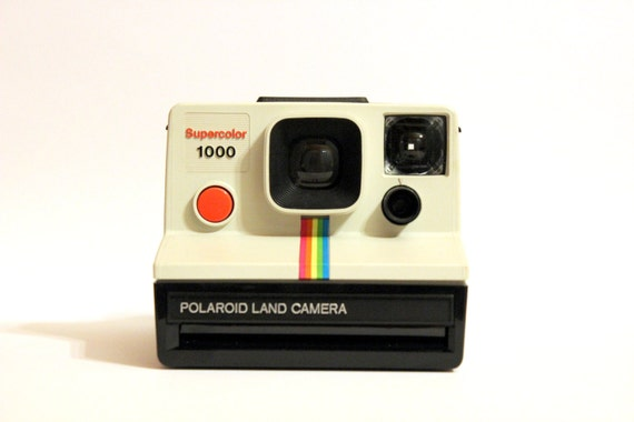 polaroid supercolor 1000 tested working from vintageandotherthing on etsy studio. Black Bedroom Furniture Sets. Home Design Ideas