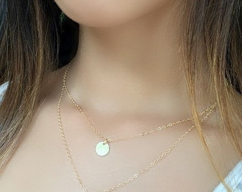 personalized ohm necklace layered om necklace initial necklace yoga jewelry 14k gold filled ohm necklace monogram necklace monogram jewelry