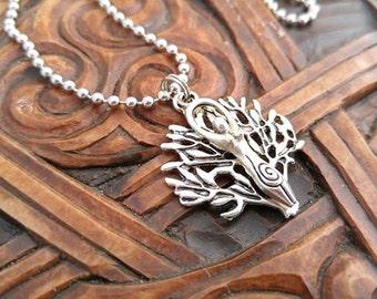 Silver Goddess Necklace, Goddess Necklace, Tree Goddess Necklace, Mother Earth Necklace, Tree of Life