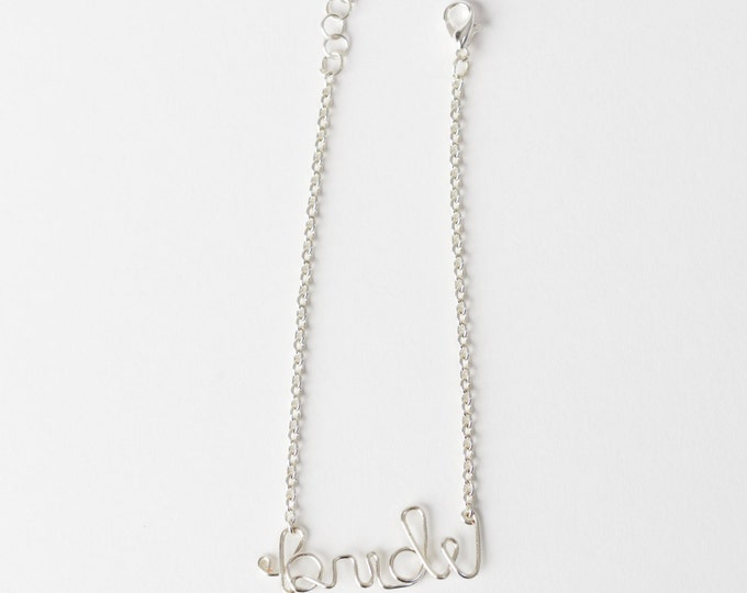 Bride Bracelet (Silver)