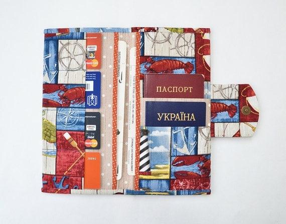 Travel wallet family travel holder travel document by for Family travel document organizer