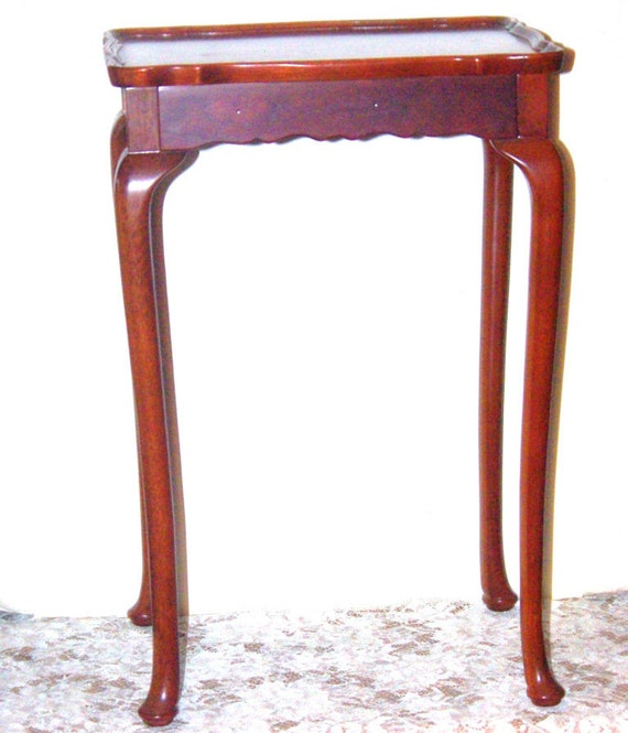 Vintage Bombay Company Mahogany Occasional By Suzscollectibles