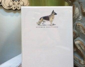 German Shepherd Dog Note Card Set