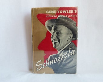 1951 Schnozzola - Jimmy Durante Story - Gene Fowler - Vintage Old Hollywood Film Biography
