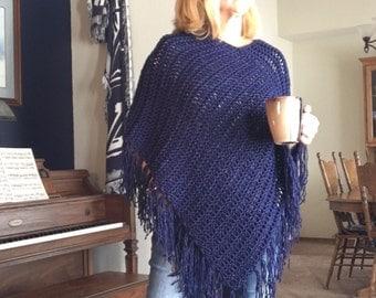 Favorite Poncho a loom knit pattern
