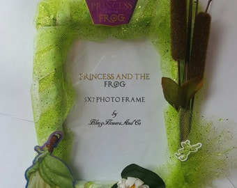 Princess Tiana Picture Frame - The Princess and The Frog Decor