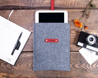 feutre d'iPad Pro affaire, taille personnalisée tablette, ipad pro housse, étui en cuir ipad, tablette cas, divers couleur cuir, 10 % OFF vente