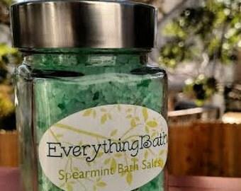 Spearmint Bath Salts