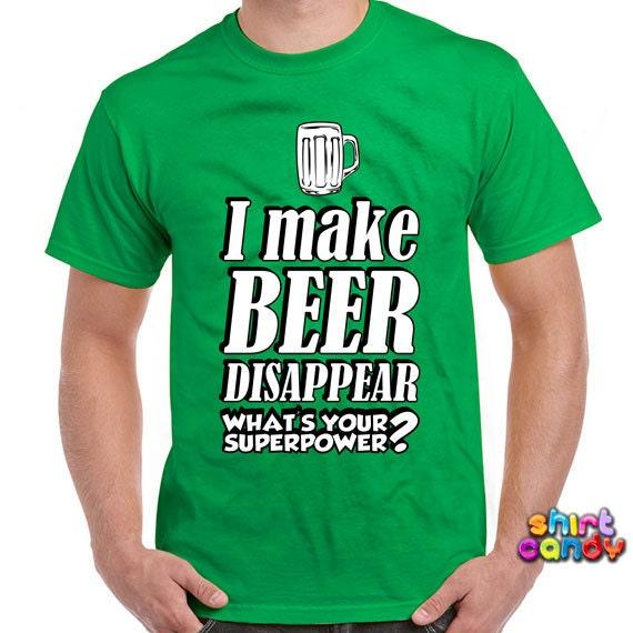Lustige bier t shirt mache ich bier verschwinden was von for Funny craft beer shirts