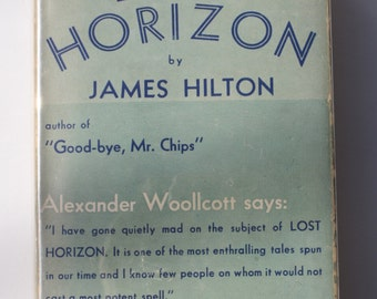 Lost Horizon by James Hilton - William Morrow & Co. 1934