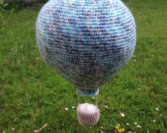 Hot Air Balloon Crochet PATTERN ONLY
