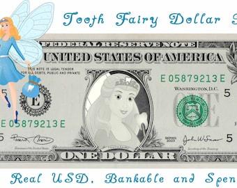 Tooth Fairy Dollar Bill Gift