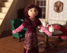 Downton Abbey-Lady Mary Crawley Pipe Cleaner Doll