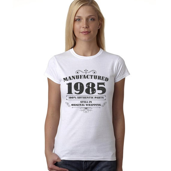 Women's 30th Birthday T Shirt Funny By BangTidyClothing On