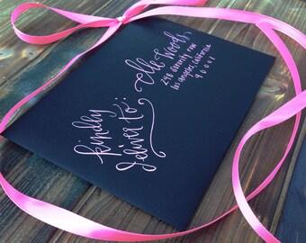 """Wedding Calligraphy Envelope Addressing/Save the date Calligraphy/Envelope Addressing/ Hand Lettering/ Custom Wedding Address """"Elle"""" Style"""