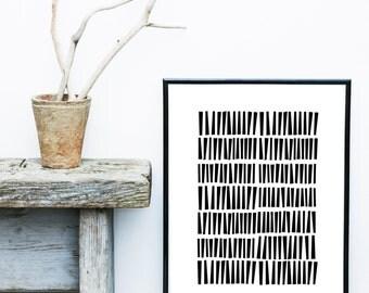 Black And White Art, Minimalist Poster, Abstract Art Print, Art Print, Scandinavian Print, Giclee print, Wall Art, Large Print
