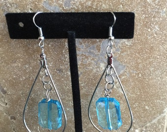 Baby Blue Earrings from my RainDrop Collection