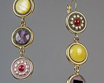 Drop Earrings > Mosaic Jewelry