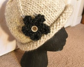 Roaring 20's Inspired Woman's Winter Hat