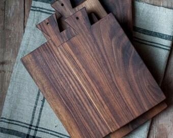 Walnut Serving Board, Bread Board, Cutting Board, Hostess and Gourmet,  Kitchen Gift