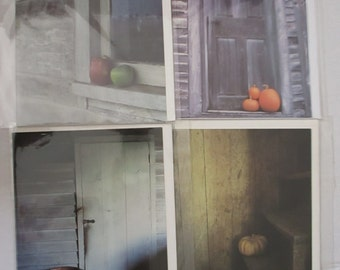 Greeting Cards Rustic Primitive Photography Photographic Cards Photographs Marion E Hilton Pumpkins