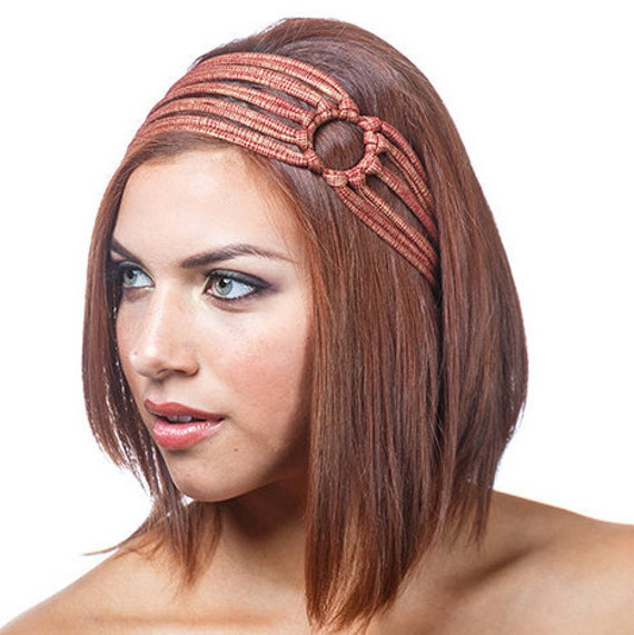 Unique Headbands For Women Red And Gold by jahannamartinez ...