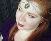 Boho Chain Headpiece - Bridal Headband - Chain Headpiece - Gypsy Headpiece - Boho Hair Jewelry - Boho Headband - Head Chain - Hair Chain