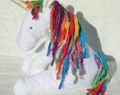 Organic Baby Unicorn, Stuffed Animal Toy, GOTS Certified Organic Cotton