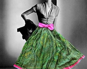 Flirty Swing Dancing Skirt