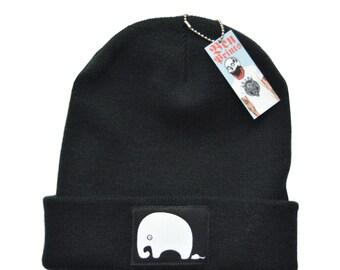 Elephant Beanie Hat, Mens Beanies, Warm Hats, Christmas Presents, Ben Prints