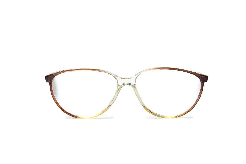 braun frauen brille vintage frames retro hipster glasses. Black Bedroom Furniture Sets. Home Design Ideas